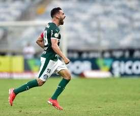 Bruno Henrique marcou frente ao Atlético-MG. Goal