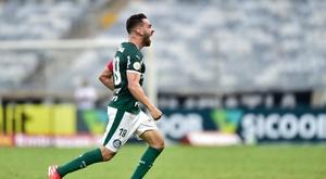 Bruno Henrique marca para o Palmeiras contra o Cruzeiro; veja o gol