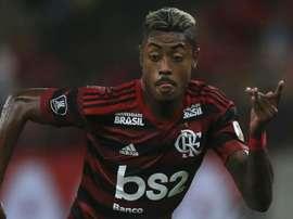 Bruno Henrique é a boa esperança de gols no Flame. AFP