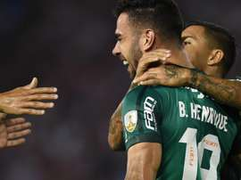 Bruno Henrique Junior Palmeiras Copa Libertadores. Goal