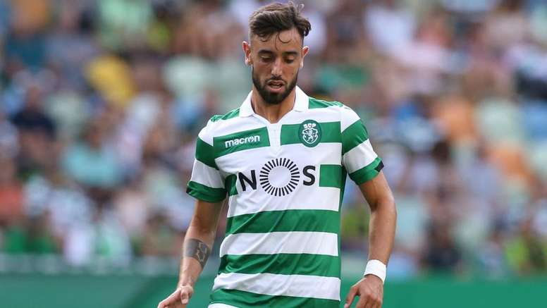 Sporting want another 15 million euros from Man Utd for Bruno Fernandes. GOAL