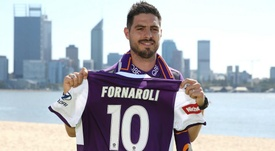 Bruno Fornaroli has moved to Perth Glory. AFP