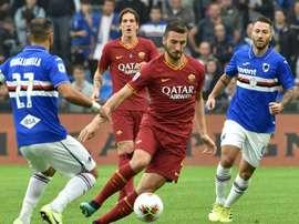 Il mediano della Roma, ex Atalanta, Cristante. Goal