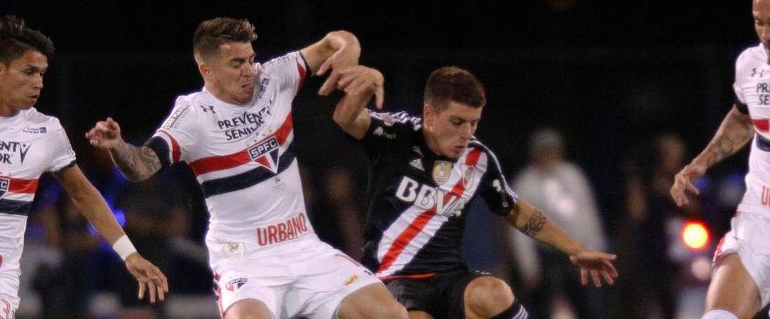 Buffarini não vai deixar saudades no 'Tricolor paulista'. Goal