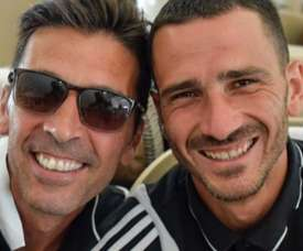 Nem Buffon escapou do trote na Juventus, e Bonucci filmou tudo; Veja!