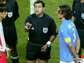 Moreno ammette il fallo su Zambrotta. Goal
