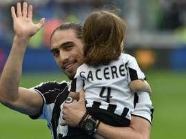 Cáceres anunciado na Juventus. Goal