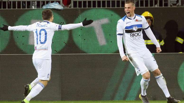 Hateboer da Champions: blitz Atalanta a Cagliari
