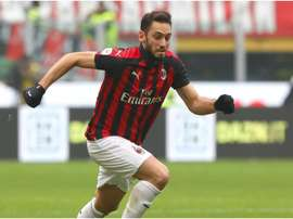 The German side seem to be priced out of a move for Calhanoglu. GOAL