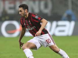 Gattuso surprised by Calhanoglu. Goal