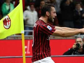 Calhanoglu e Musacchio tornano in gruppo: recuperati per la Fiorentina. GOAL