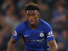 Hudson-Odoi steps up injury recovery with Stamford Bridge training session