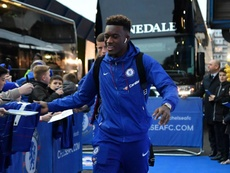 The Chelsea youngster has been frustrated by a lack of first team opportunities this season. GOAL