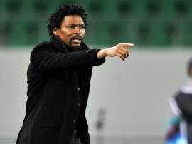 Le sélectionneur du Cameroun Rigobert Song. Goal