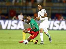 Le Ghana accroche le Cameroun. AFP