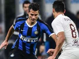 Inter, Candreva infortunato: problema alla schiena contro la Roma