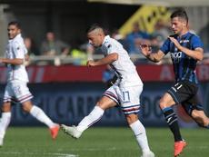 Vittoria della Samp a Bergamo. Goal