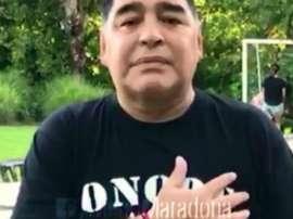 De nouveaux problèmes de santé pour Maradona. Goal