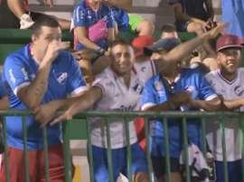 Conmebol pune Nacional-URU por comportamento de torcedores em Chapecó