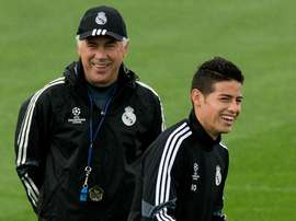 Ancelotti wants James at Napoli. GOAL