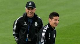 Ancelotti wants James at Napoli. GOAL