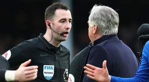 Ancelotti escapes FA ban after angry confrontation with referee. GOAL