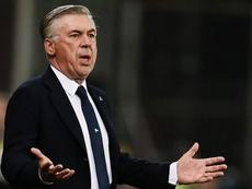Carlo Ancelotti, lancia l'allarme. AFP