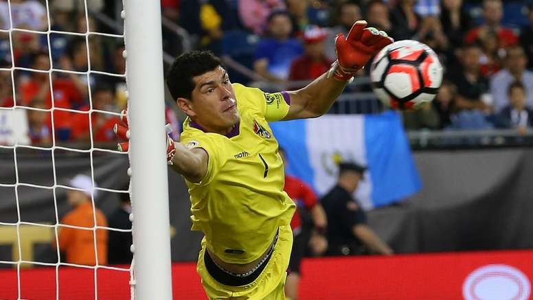 I turned to the stands and clapped - Tite lauds Bolivia keeper Lampe