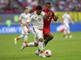 Comitiva lusa queria o triunfo diante do México. Goal