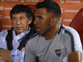 Tevez slammed officiating before the match. GOAL
