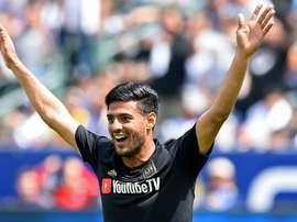 Vela's brace helped his side to victory. GOAL