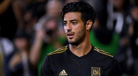 Carlos Vela scored again to lead the visitors. GOAL