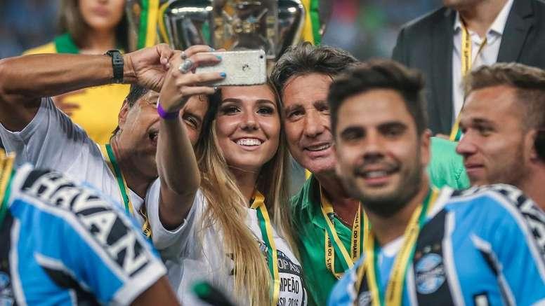 Cruzeirenses apelam à filha de Renato Gaúcho por ajuda contra rebaixamento. GOAL