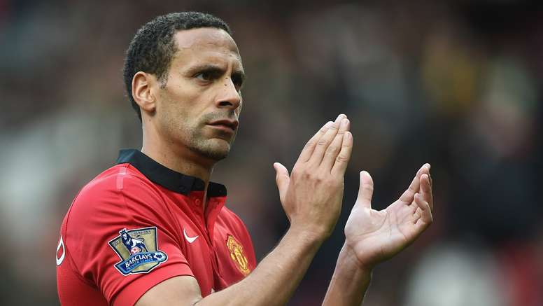 Ferdinand gave a speech to one of United's youth teams. Goal