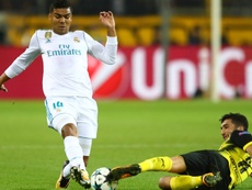 Casemiro esteve em ação no Signal Iduna Park, campo do B. Dortmund. Goal