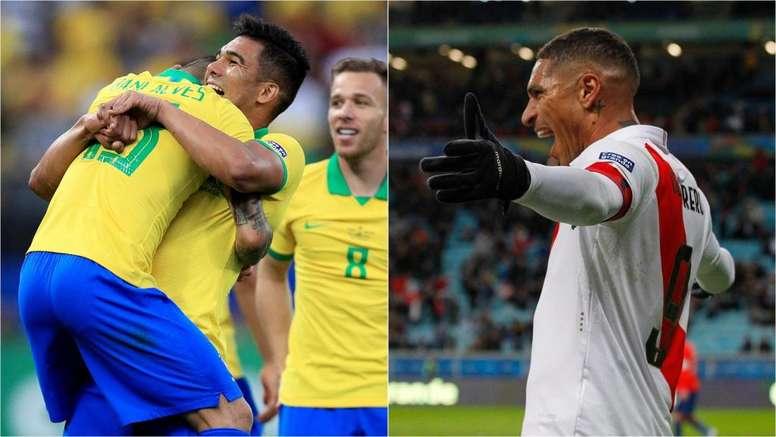 Brazil will face Peru in tomorrow's Copa America final. GOAL