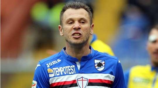 Antonio Cassano has found a new club. GOAL