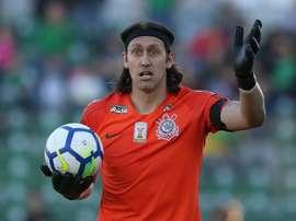 Cássio é dúvida para a Sul-Americana. Goal