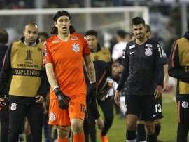 Corinthians: Herói contra o Colo-Colo, Cássio confia em classificação mesmo após derrota por 1 a 0