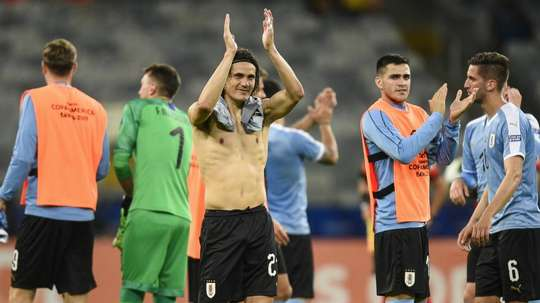Tabarez was delighted with Cavani and others recovering well from injury. GOAL