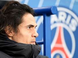 Cavani was unable to get his move to Atletico Madrid this January. GOAL