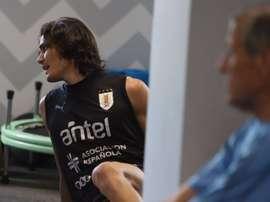 Tabárez já tem um substituto para Cavani.Goal