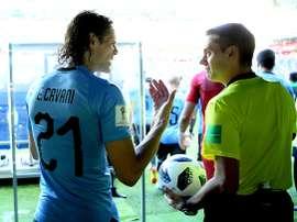Cavani, un homme sur qui on peut compter. Goal