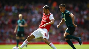Ceballos got two assists in his first game for Arsenal. GOAL