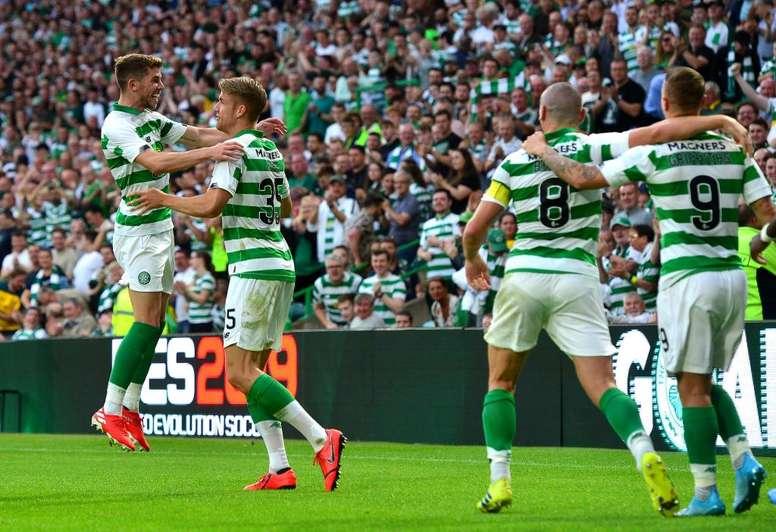 Le Celtic cartonne. GOAL