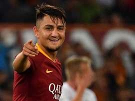 Cengiz Under Roma 02102018. Goal