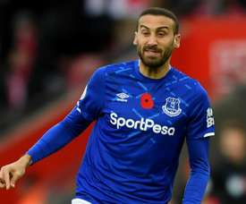 Palace complete loan deal for Everton striker Tosun. GOAL