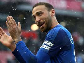 Tosun says he is glad a move to Crystal Palace fell through. GOAL
