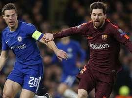 Na ida, Messi fez a diferença. GOAL