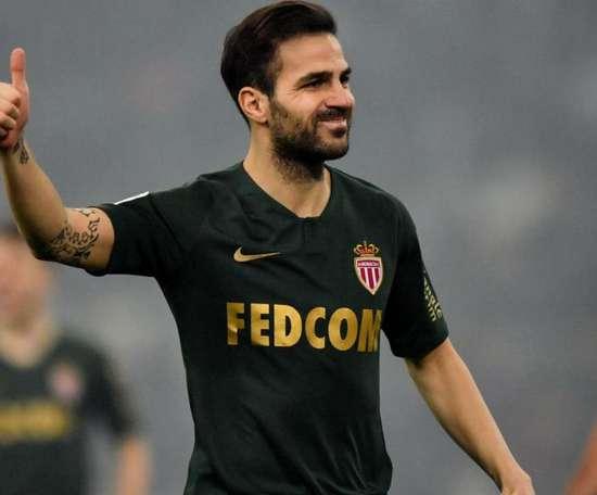 Fabregas avait lui pu jouer face à Marseille. Goal